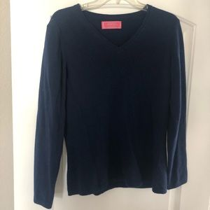 Unsex worn once royal blue sweater- 100% wool